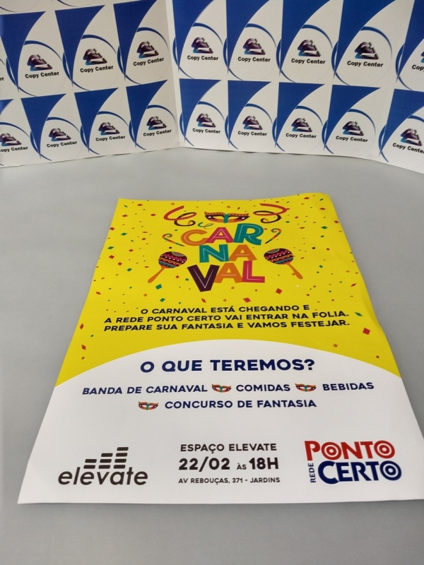 Cartaz Impressão Digital Preço Próximo de Santa Efigênia - Impressão de Cartaz A3