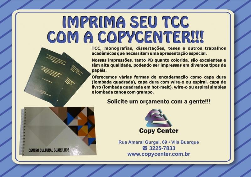 Encadernação Tcc Consolação - Encadernação Wire-o