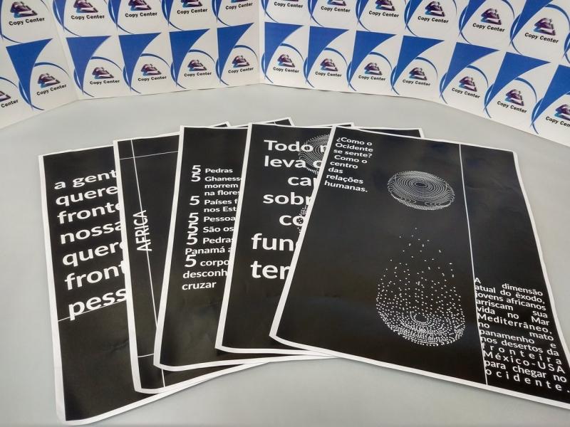 Gráfica de Cartaz Impressão Digital Brás - Impressão Cartaz