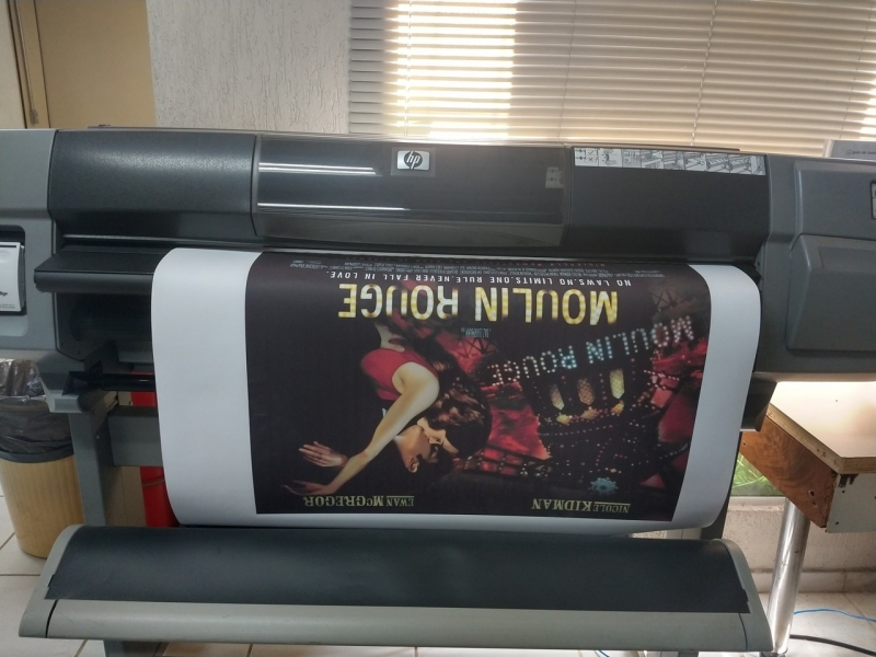 Gráficas de Impressão em Banner Centro - Banner Impressão