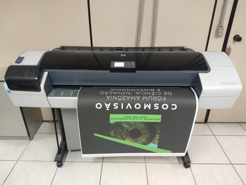 Impressão Digital Banner Vila Romana - Impressão em Banner