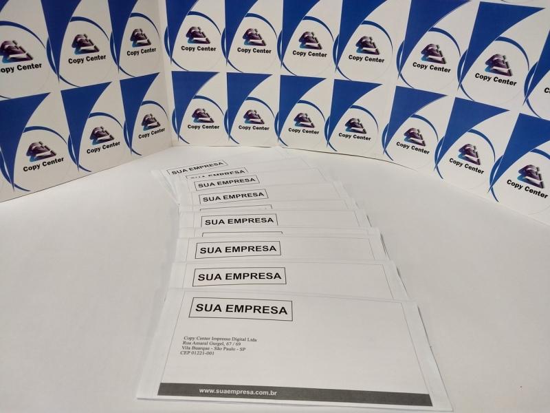 Impressão Digital Boleto Santa Efigênia - Impressão Digital Crachá