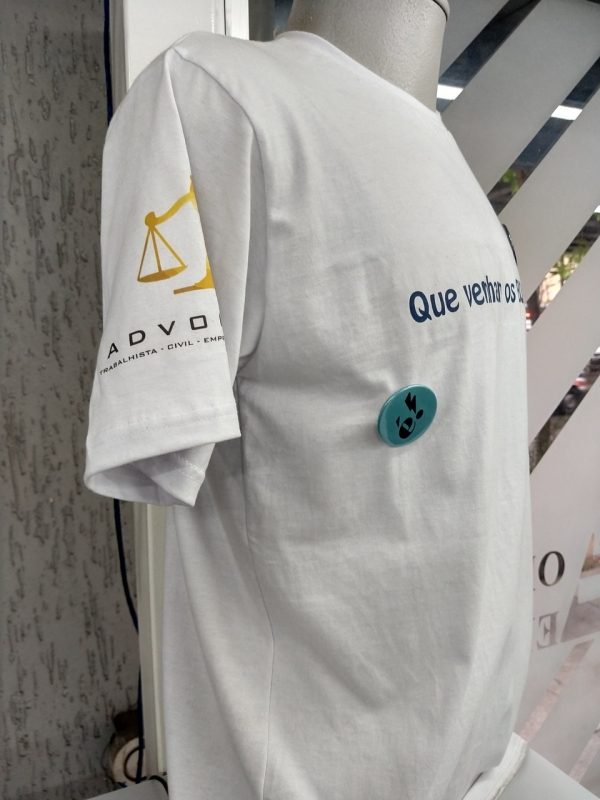 Impressão Digital Camiseta Liberdade - Impressão Digital Camiseta