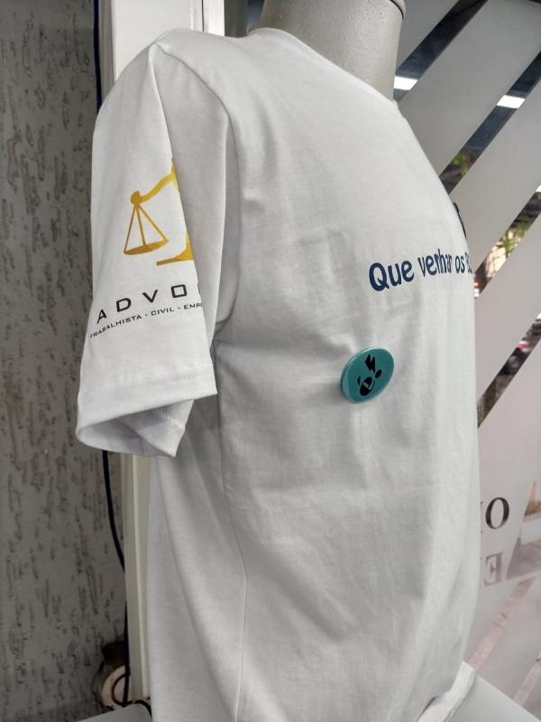 Impressão Digital Camiseta Roosevelt (CBTU) - Impressão Digital Crachá