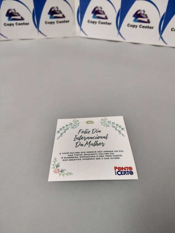 Impressão Digital Cartões Preço Pinheiros - Impressão Digital Boleto