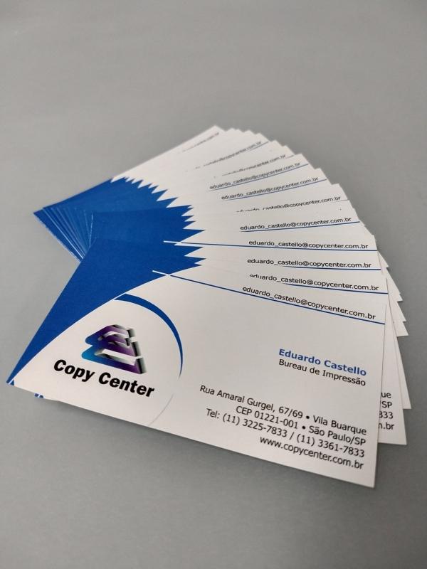 Impressão Digital Cartões Alphaville - Impressão Digital Manuais