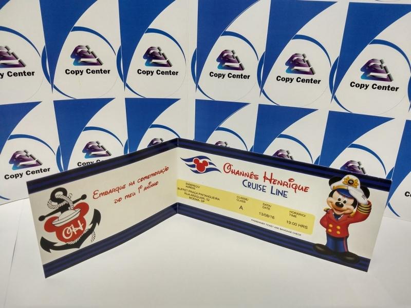 Impressão Digital Convite de Aniversário Luz - Impressão Digital Cartões