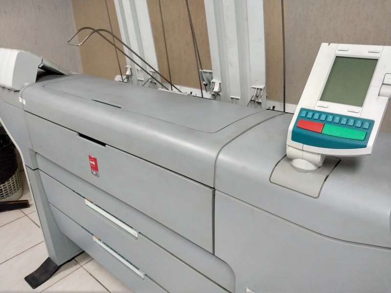 Impressão Plotagem Luz - Plotagem Colorida