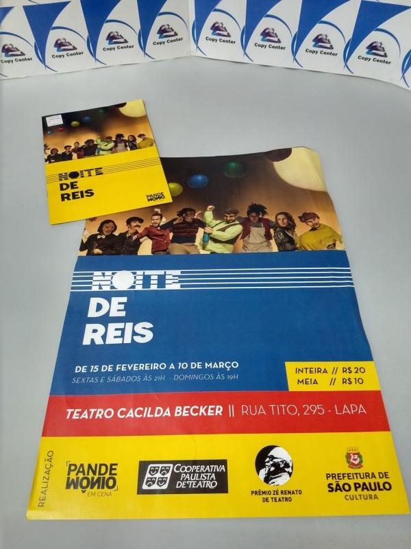 Impressões de Cartaz A3 Colorido Jardim Paulista - Impressão de Cartaz A4
