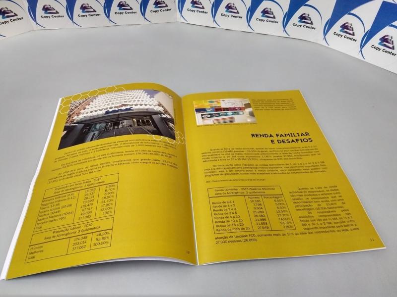 Impressões Digitais Revistas Santa Cecília - Impressão Digital Crachá