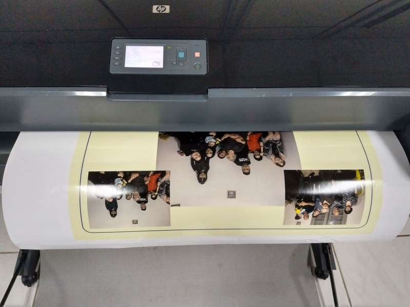 Onde Faz Impressão de Fotografia em Grande Formato Liberdade - Impressão de Grande Formato