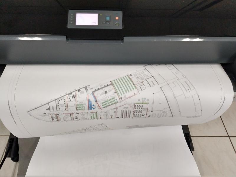 Plotagem de Projetos Orçar Centro - Impressão Plotagem