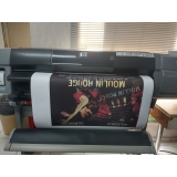 gráficas de impressão digital banner grande Pari