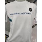 gráficas de impressão digital camiseta Vila Romana