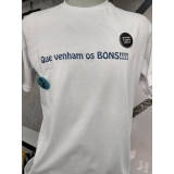 gráficas de impressão digital em camisetas Santa Efigênia
