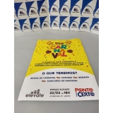 impressão de cartaz a3 colorido preço Água Branca
