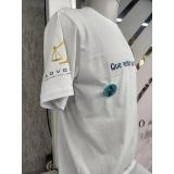 impressão digital camiseta Centro
