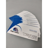 impressão digital cartões Parque Dom Pedro