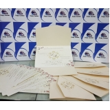 impressão digital convite de casamento preço Alphaville