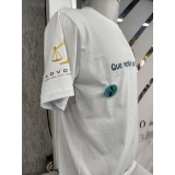 impressão digital em camisetas Brás